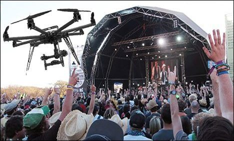 Can I Use A Drone To Film My Event