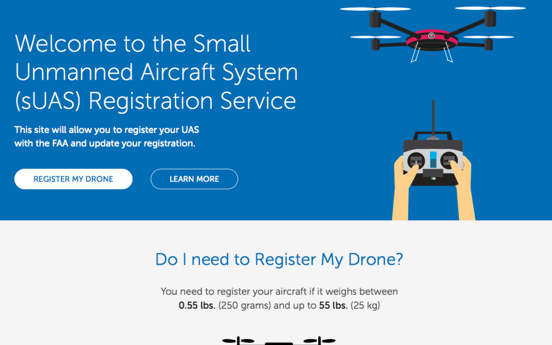 How do I register my drone with the FAA?