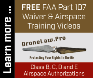 FREE FAA Part 107 Training Video Ad